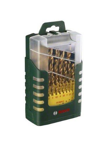 [Blitzangebot]  Bosch 25-teiliges Metallbohrer-Set Titanium, Ø -13 mm, 2607017154 für 29,90€ @Amazon