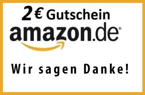 2 € AMAZON GUTSCHEIN für 1 € bei eBay