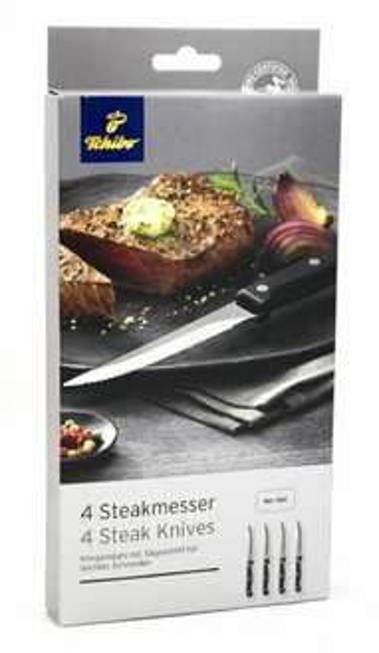 [7% Qipu] 4 TCM Steakmesser mit Lieferung in Tchibo-Filiale für 8,95€ @Tchibo Online