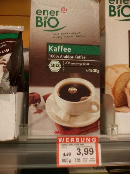 ener Bio Kaffee Rossmann