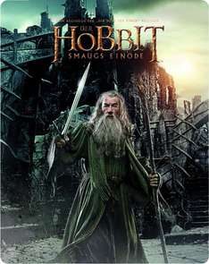 Der Hobbit: Smaugs Einöde Steelbook [Blu-ray] [Limited Edition] für 9,97€ @Amazon.de (Prime)