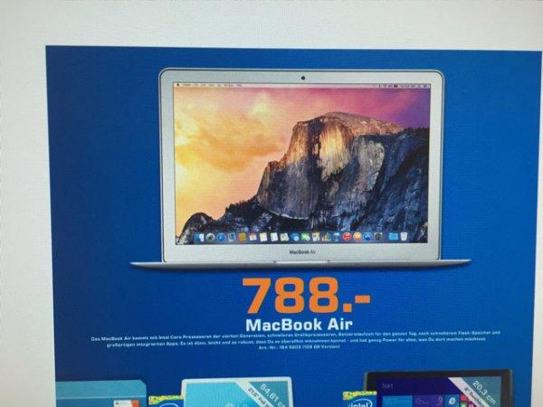 "[Lokal Berlin] MacBook Air 128GB 13"" 788€"