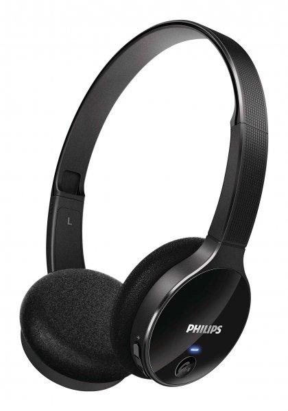 [Gravis] Philips SHB4000 Bluetooth On-Ear-Kopfhörer schwarz für 24€ (Versand) = 20% Ersparnis bzw. 20€ (Abholung) = 33% Ersparnis