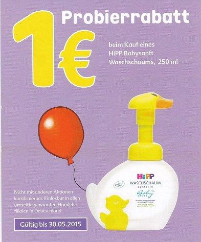 Kaufland: Hipp Waschschaum 1,59