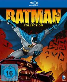 [Amazon] DC Universe Batman Collection - Limited Edition - Blu-Ray für 44,97 EUR