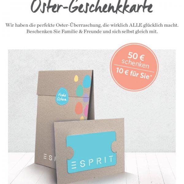 Esprit Oster- Geschenkkarte
