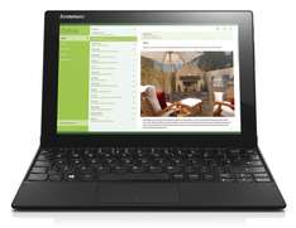 "Lenovo Miix 3 - 10"" FHD Win 8.1 Tablet inkl. Tastatur (QWERTY), Intel® Z3735F (4x 1.83 GHz), 2GB Ram, 32GB Speicher für 240,52€ @Amazon.co.uk"