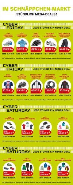 [lokal, BONN] Bike-Discount Megastore: Cyber Saturday - Angebote von 10-18 Uhr