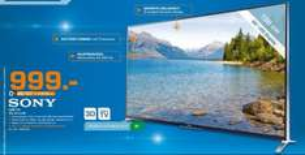 "[Lokal Saturn Leipzig] Sony TV KDL-55W955B 139 cm (55"") 3D für 999,-€"
