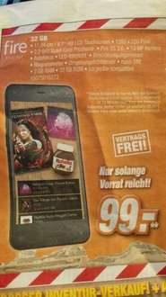 (lokal+ offline) firephone 32gb für 99€ @Expert klein