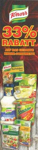 [Netto Marken-Discount Lokal] 33% Rabatt auf das gesamte Knorr-Sortiment ab 16.03.
