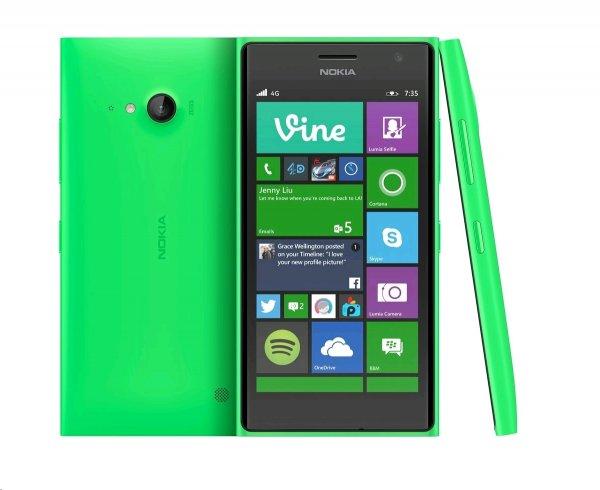 Nokia Lumia 735 (GRÜN) für 134,99€ im Orange Online-Shop - Coverwechsel möglich