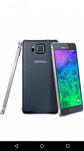 (SATURN BAD OEYNHAUSEN) Samsung Galaxy Alpha für 299€ statt mind. 351,96€