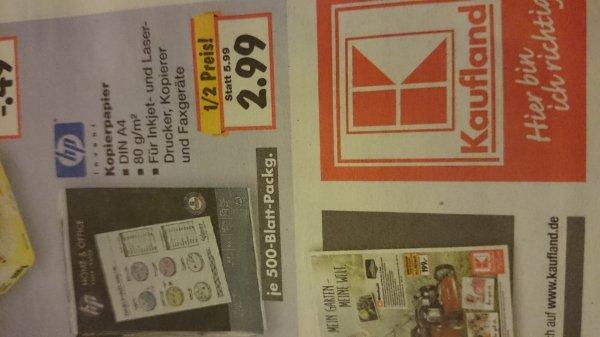 Lokal? HP Kopierpapier 500 Blatt 2,99€
