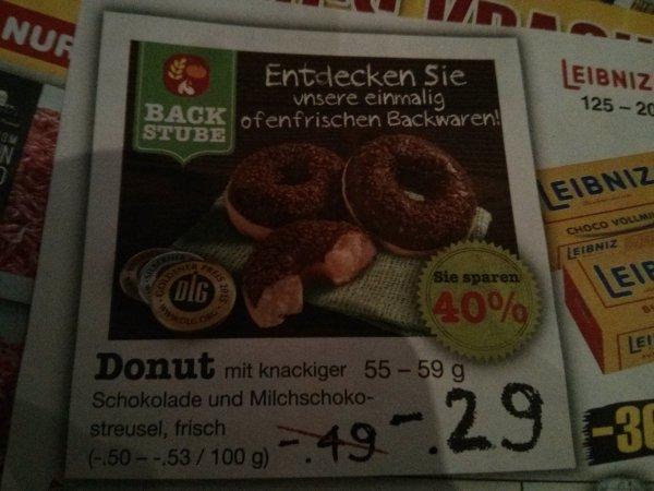 [Netto ohne Hund (Lokal?)] Schoko-Donut aus der Backstube für 0,29 € (ab dem 16.03.)
