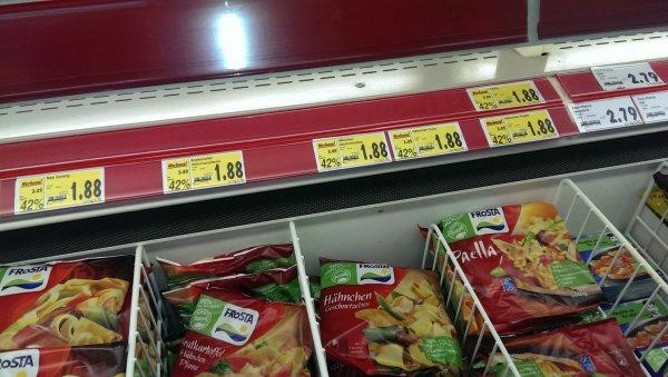 [LOKAL] Frosta Fertiggerichte für 1,88 € - Kaufland Cottbus