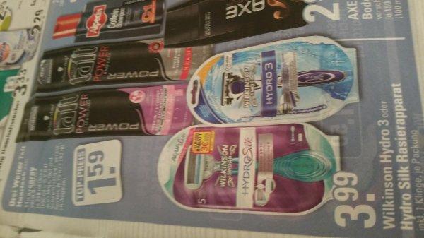 Hydro Silk und Hydro 3 für 3.99€ bei Edeka Center (evtl bundesweit ?)