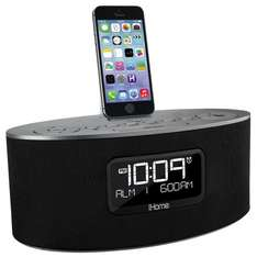 SDI iHome iDL46 Stereo-Radiowecker mit Lightning Dock für 82,43 € @Amazon.it