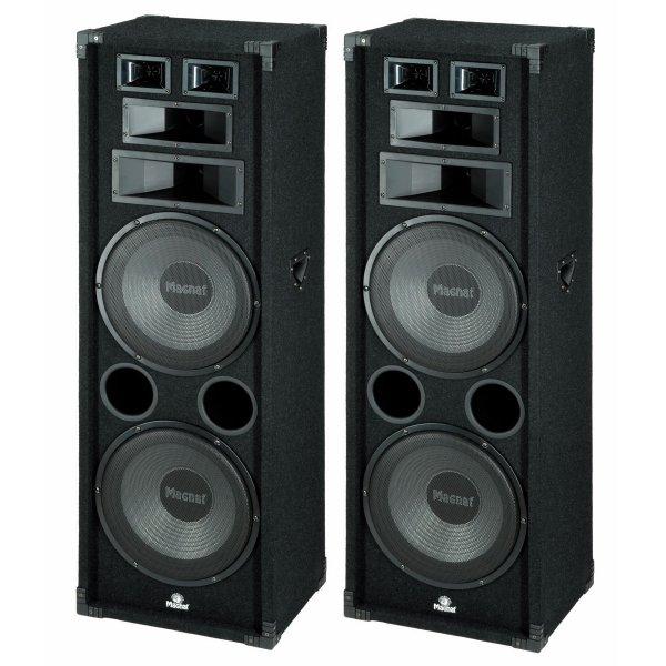 [d-living.de] Magnat Soundforce 2300 Standlautsprecher für 248€ = 23% Ersparnis *** Magnat Interior PRO 130 Regallautsprecher in schwarz (Paar) für 57€ = 15% Ersparnis