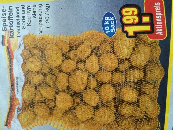 [Netto ohne Hund] *bundesweit* 10 Kg Kartoffeln für 1,59€