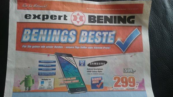 Lokal Expert Bening - Samsung Galaxy Alpha