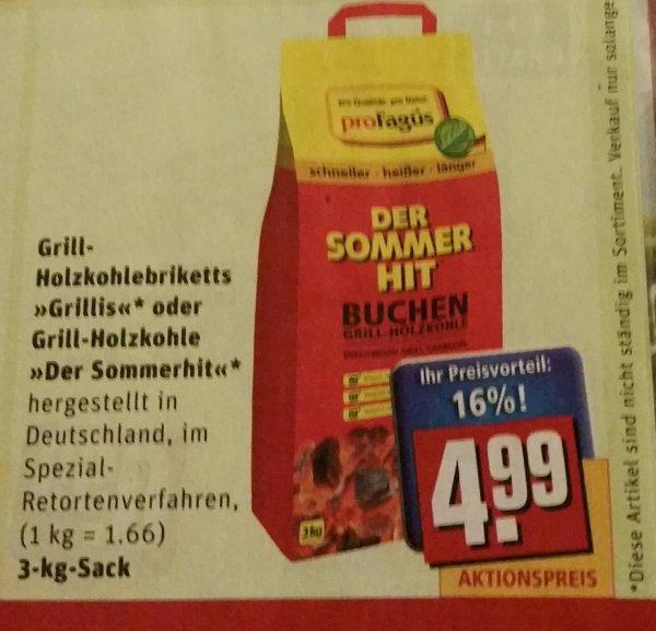 Rewe Grill-Holzkohlebriketts (Lokal? )