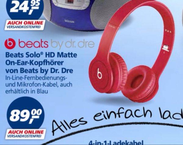 Beats by Dr.Dre Solo HD rot/blau