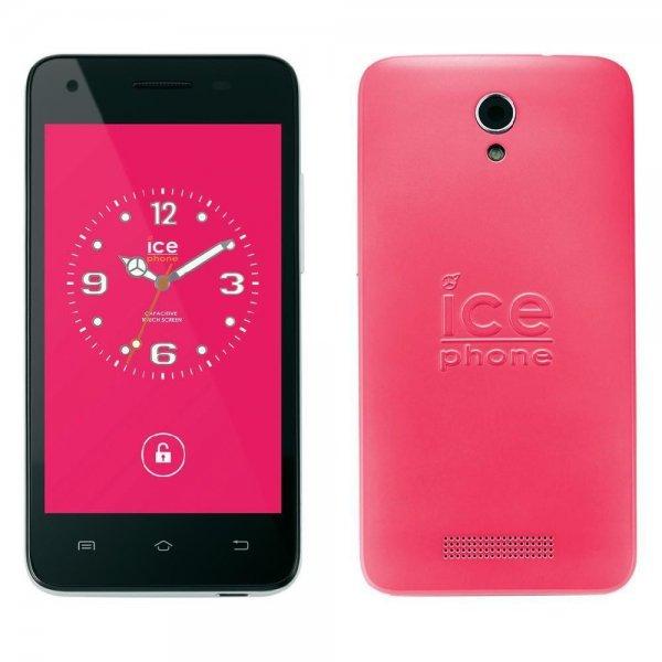 Ice Phone Forever Smartphone [rosa/pink] -Dual Sim, 4 Zoll, 1.2 GHz Dual Core 1 GB RAM, 4 GB - für 49€ @ Ebay (Conrad-B-Ware)