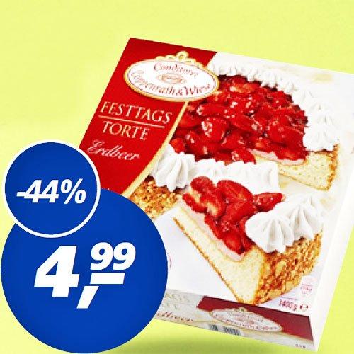 Zu Ostern Festtagstorten von Coppenrath & Wiese nur 4,99€ im [REAL]