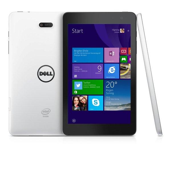 [amazon.de] Dell Venue 8 Pro in weiß und schwarz (1280 × 800, Win 8.1, Intel Z3735G - 4x 1.33GHz, 1GB RAM, 32GB) für 89,00€