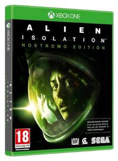 Alien Isolation - Nostromo Edition (Xbox One)  @Coolshop für 24,99€