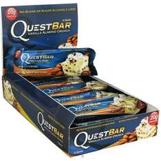 (bodylab24.de) Questbars Vanilla almond crunch (und andere)
