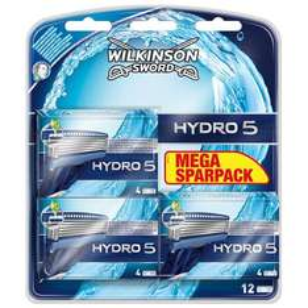 [ROSSMANN] Wilkinson Sword Hydro 5 Klingen Super Sparpack (6 Stück) für 4,95€ [0,83 € je Klinge]