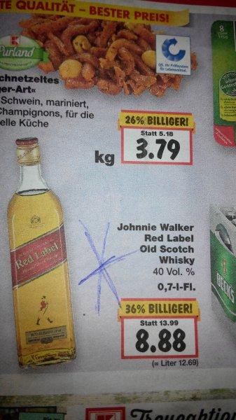 Johnny Walker Red Label bei Kaufland
