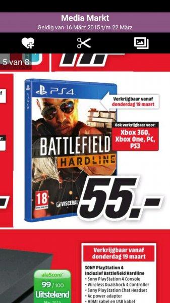Battlefield Hardline für ps4,Pc und Xbox One (NL)