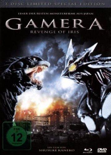 Gamera – Revenge of Iris (Mediabook) [2 DVDs + Blu-ray] für 6,97€ @Amazon.de (Prime)