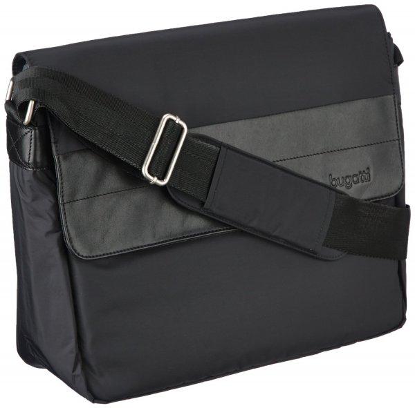 [3% Qipu] Bugatti Dynamics Messenger Bag (13'' Laptop-/Tabletfach) und Offroad Reisetasche (62cm) in schwarz für jeweils 49,95€ frei Haus @DC