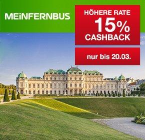 [Qipu] Bis Freitag, 20.03 : MeinFernbus.de & flixbus.de - 15% Cashback auf MeinFernbus / FlixBus