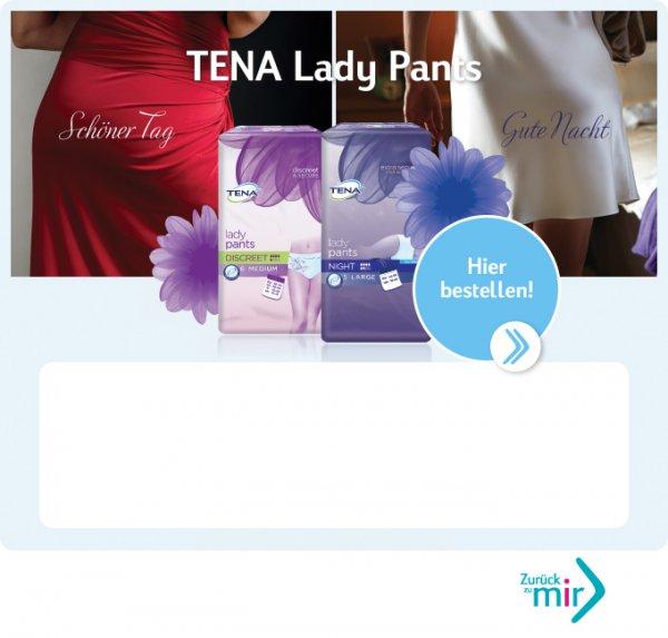 Gratis 3  TENA Lady Pants