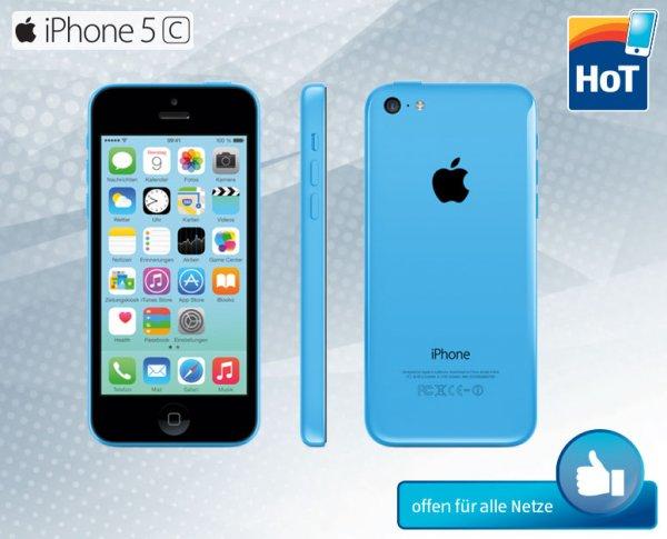 [OFFLINE] Apple iPhone 5c - blau oder weiß - nur 296,77€