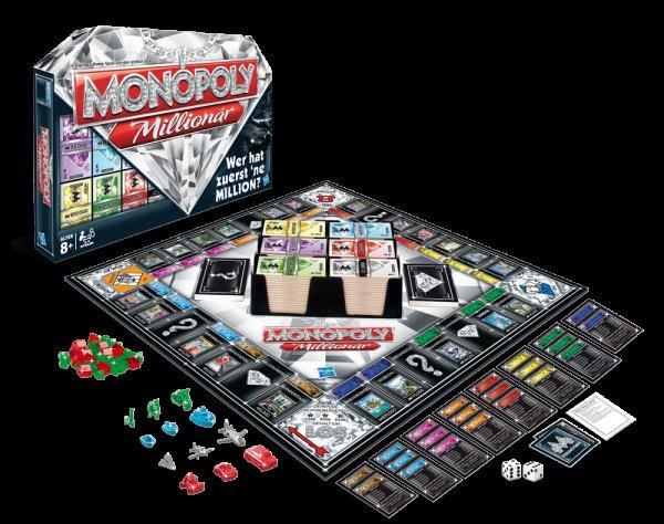 "[Lidl online] Hasbro Monopoly Millionär für 21€ = 28% Ersparnis *** weitere Angebote (Monopoly ""Zelda"" + Risiko ""The Walking Dead"" + ""Munchkin Quest"")"