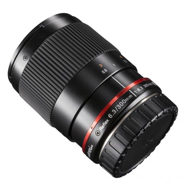 [Amazon Blitz] Ab 18.ooUhr..Walimex Pro 300mm 1:6,3 CSC-Teleobjektiv (Spiegelteleobjektiv, Filtergewinde 25,5mm) für Sony E Objektivbajonett schwarz  für 149,- VSK frei