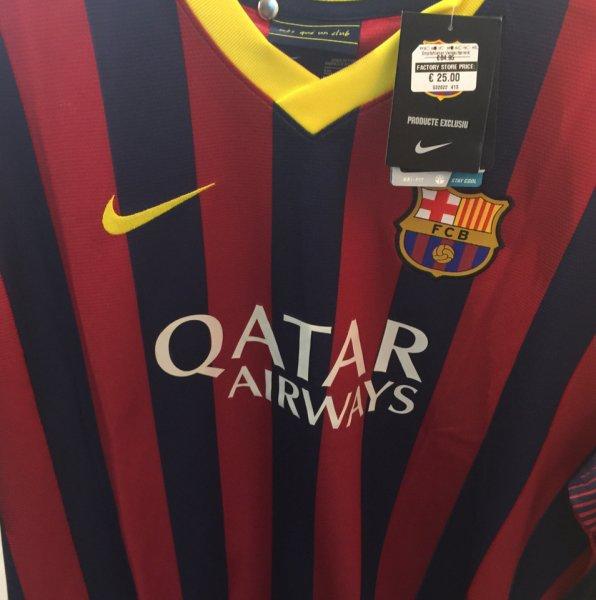[Lokal Berlin] FC Barcelona Nike Trikot für 12,50