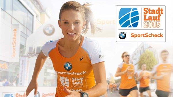 Sportscheck Stadtlauf/Stadtläufe 2015 gratis mit Gutschein von BMW Impulse LÄUFT JETZT