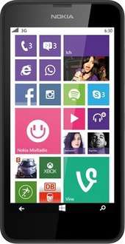 Nokia Lumia 630 Dual SIM schwarz 94,89€ @ Notebooksbilliger
