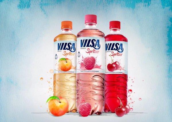 Vilsa Spritzer (Wasser mit Geschmack) GRATIS testen + Portoerstattung