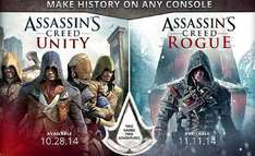 [Saturn] [Berlin] Assassin's Creed Unity - 29€ - Assassin's Creed Rogue 19€
