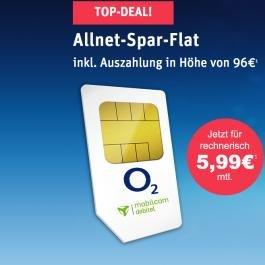 WOW! Allnet-Spar-Flat für rechnerisch nur 5,99 Euro im Monat @Modeo