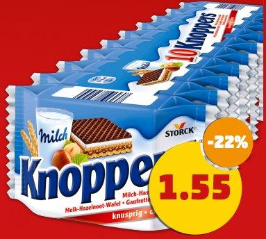 """[penny] Bundesweit Knoppers 10er Packung für 1,55€ am """"Framstag"""""""