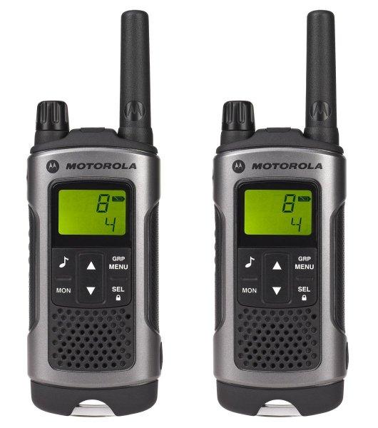 [MeinPaket] Motorola TLKR T80 Funkgerät (2 Stück) in silber für 60€